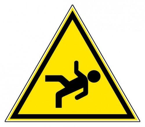 La chute de plain pieds